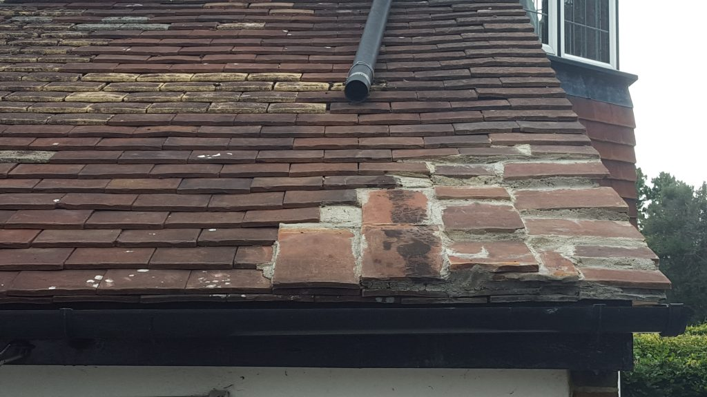 A Perfect Example of When NOT To Cement Tiles - Watchdog Roofing Projects