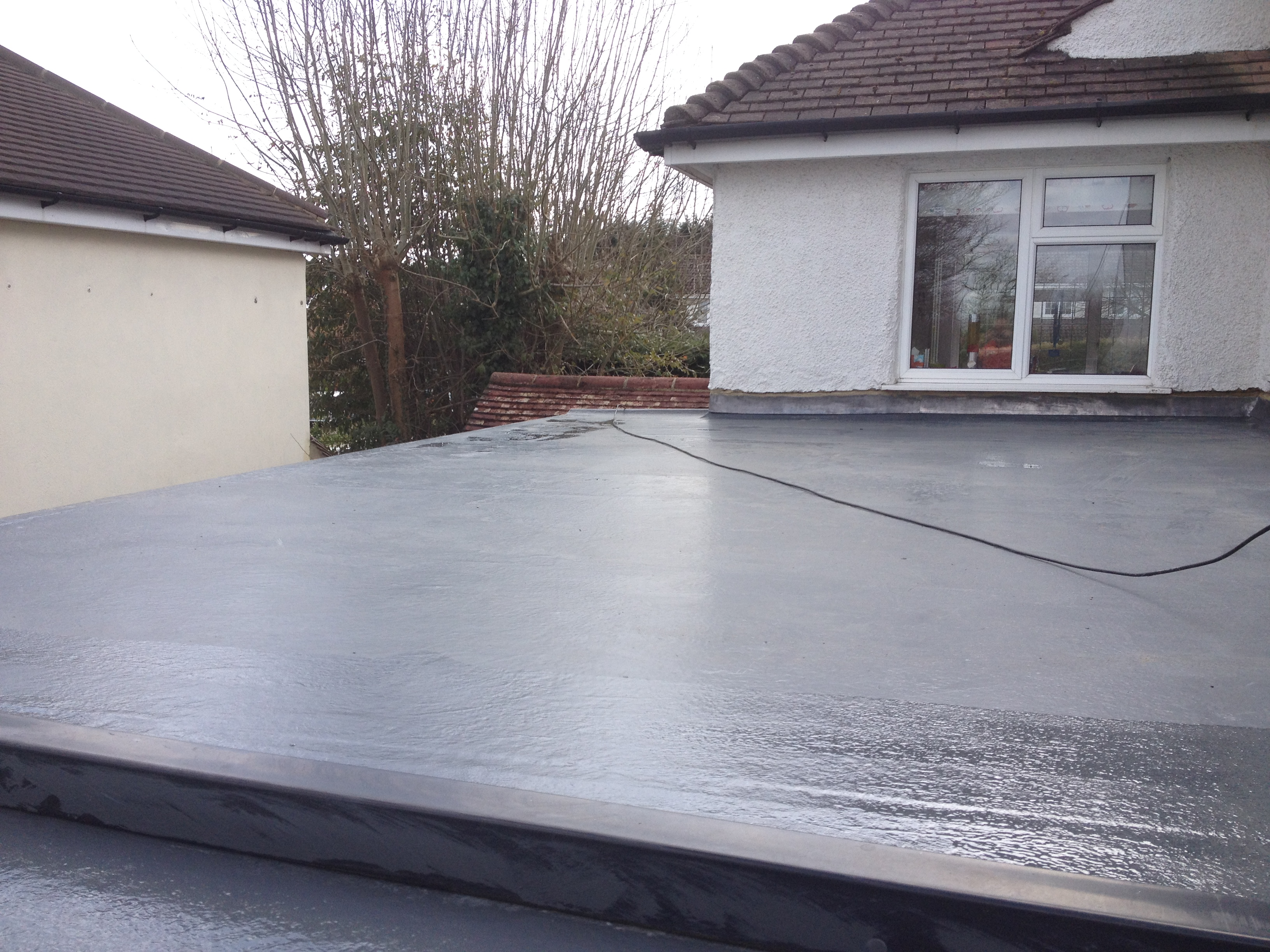 Fibreglass Roof and Jetwash Porch Coulsdon