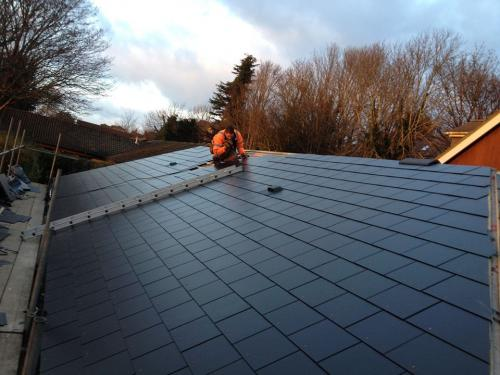 Pitched Roofing Project Completed By The Original Roofing Company