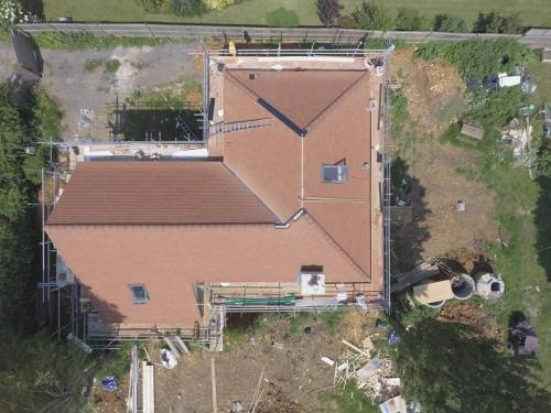 Large Pitched Roofing Project Completed By The Original Roofing Company