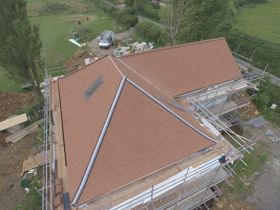 Pitched Roof Project By The Original Roofing Company