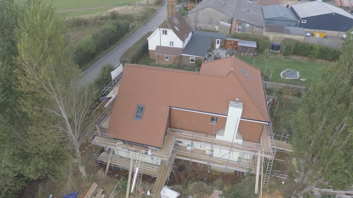 Re-Roofing Project In Keston