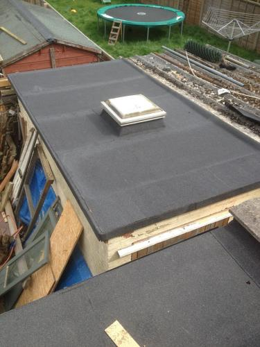 Flat Roof Project Completed By The Original Roofing Company