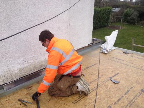 lead cover flashings installation